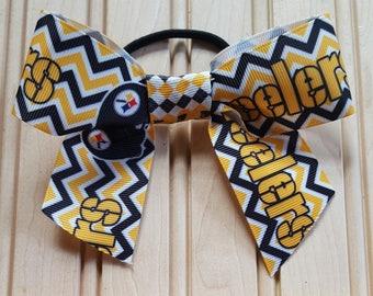 Pittsburgh Steelers Hair Bow