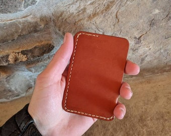 Concealed Carry minimalist wallet, Leather wallet, gift for men, mens Leather wallet, slim wallet, front pocket wallet, wallet women, slim