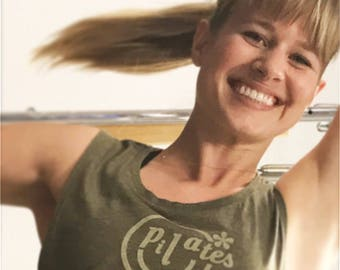 Pilates Tank, Pilates Tank Top, Cute Tank Top, Pilates Gift, Pilates T-Shirt, Pilates Tee, Yoga Barre Tanks, Pilates Clothes, Pilates Top