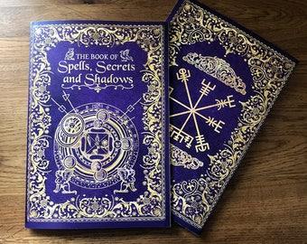 Book of Spells A5 Notebook. Spell Book. Book Of Shadows. Book Of Spells. Lined Notebook. Magic Journal. Journal. Dream Journal. Grimoire.