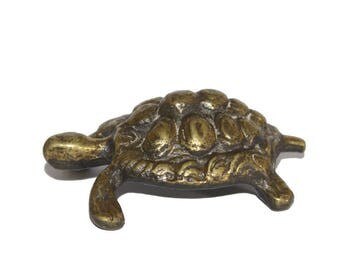 Brass Tortoise. Tortoise. Spirit Animal. Tortoise Totem. Talisman. Brass. Tortoise Figure. Vintage Brass. Kashyapa. Cosmic Tortoise/Turtle.