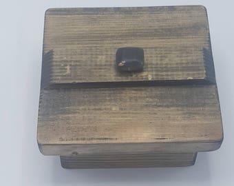 Handmade Oriental Pine Box