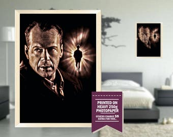Sixth Sense poster, fan art, sixth sense print, sixth sense, digital style, cool posters, cool GIFTS, cool gift ideas, sixth sense fan art