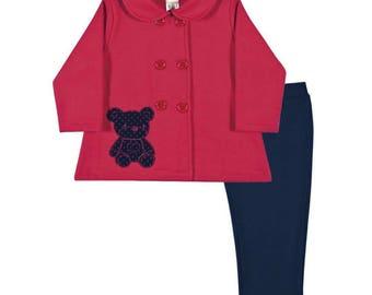 Bear jacket and leggings