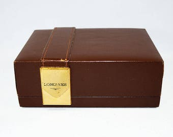 Vintage Longines Watch Box
