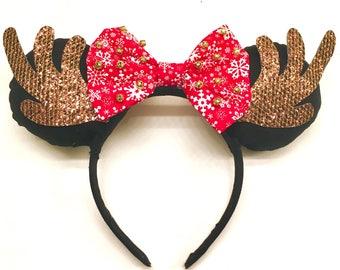 Reindeer Disney Ears