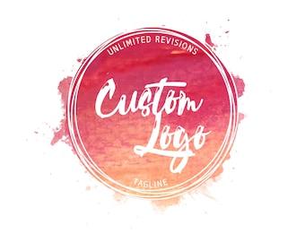 Logo Design, Custom Logo Design, Logo Design Custom, Custom logo, Business Logo, Photography Logo, Watercolor Logo, logo designer, Shop logo