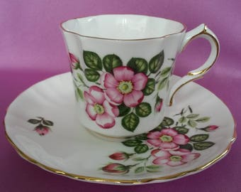 Hammersley Royal Avon Flowers of Shakespeare's Day Bone China Cup & Saucer