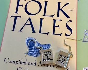 Telling Tales earrings
