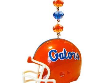 UNIVERSITY of FLORIDA *Football Helmet*Magnetic Ornament, Gator Dorm Decor,Gators Decor,gator Ornament,Gators gift,gator nation,UF,go gators