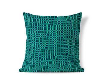 Textured Pillows - Cushion Cover - Blue Pillow - Striped Pillow Sham - Pillow Sham - Throw Pillow Cover - Decorative Pillows - Accent Pillow