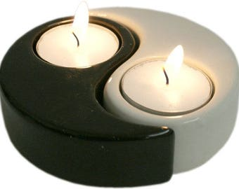 Yin and Yang Tealight Holder