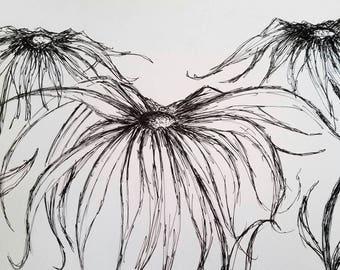 Chaos. Pen art