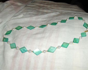 Mint Diamonds necklace