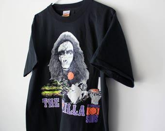 Vintage 90s Phoenix Suns Gorilla T-Shirt // Men's Large