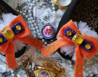 Sailor Venus bow shoe clips