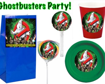 Ghostbusters  Party Supplies 12pcs.