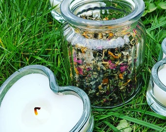 Cutting Cords from Past Lover's Blend | Organic Vaginal Yoni Steam Herbs | Womb Wisdom | Divine Feminine Ritual | International Shipping
