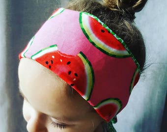 100% cotton reversible headband