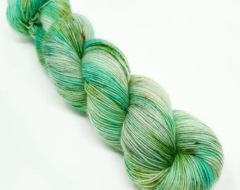 Blue Lingcod -  100g - Single Ply - Superwash Merino - Hand Dyed Yarn