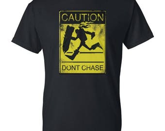 Caution Mens / Womens T-shirt High Quality Fashion Style Hand Crafted Apparel Bulk Orders Discounts !