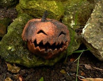 """""""Monster"""" Halloween, decorative pumpkin felt"""