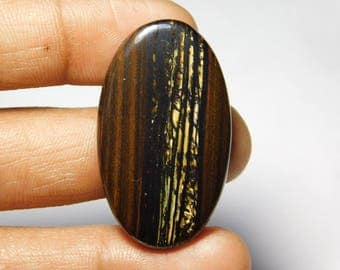 Rare ! Awesome Tiger iron gemstone Cabochons Tiger iron Excellent cabochons Designer Amazing loose gemstone 59.60cts (41x24x4)mm.