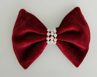 Holiday Velvet Bow