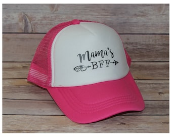 Mama's BFF Toddler Trucker Hat