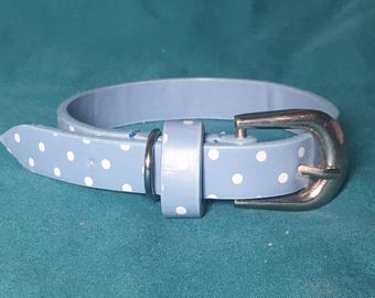Pupcycled Teacup Beau Dog Collar