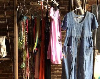 80's/90's Blue Jean Dress
