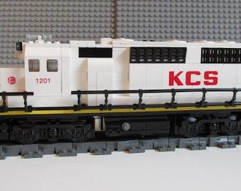 Custom Lego Train Kansas City Southern KCS GP40