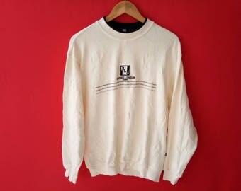 vintage michiko london jeans sweatshirt large mens size