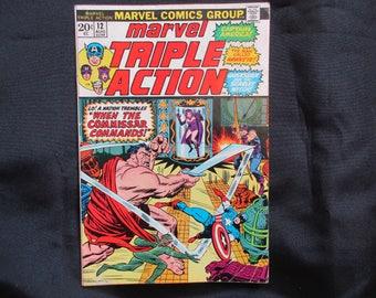 Marvel Triple Action #12 Marvel Comics 1973
