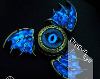 EDC Metal Fidget Spinner - Luminous Dragon Eye