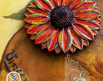 EDC Metal Fidget Spinner - Sunflower