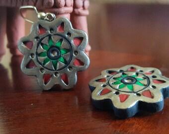 Terracotta Jewellery, earrings