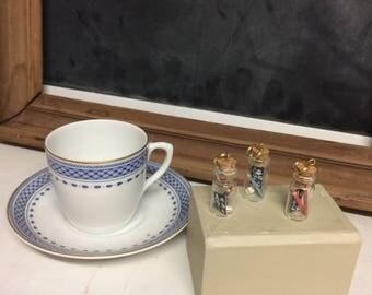 Handmade Teacher Jar Pendant