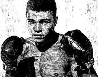 Cassius Clay (Mohammad Ali)