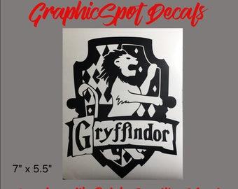 Gryffindor Badge | Vinyl Decal |