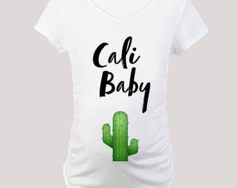 California Baby Maternity Tee