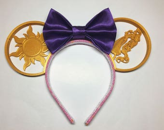 Tangled Inspired Mouse Ears