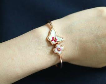 Real Flower Bracelet D