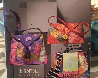 Vogue accessories pattern V0699 - handbags - uncut