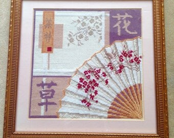 Embroidery Chinese fan