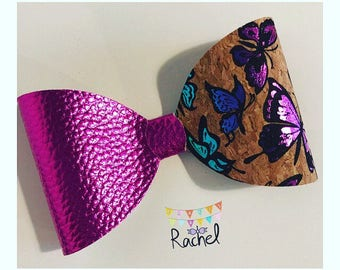 Large Wide Butterfly Bow