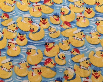 Duck, Rubber Duck, Yellow Duck, Flannel