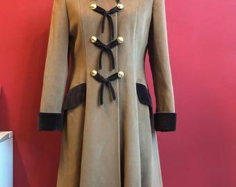 "Amazing 100% wool 80's ""Mimmina"" coat"