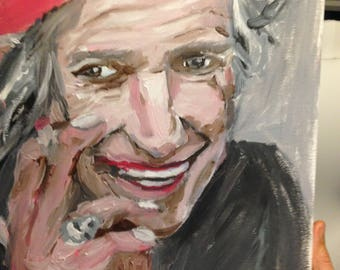 Keef a portrait of Keith Richards