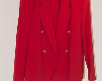 JOBIS COLLECTION red suit